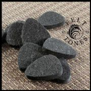 Felt Tones - Tin of 4 Ukulele Picks | Timber Tones